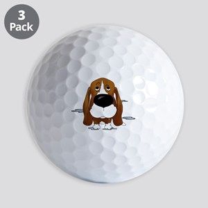 BassetDroolDark Golf Balls
