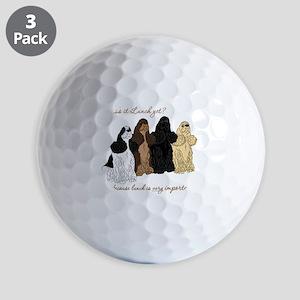 Cocker Values Golf Balls