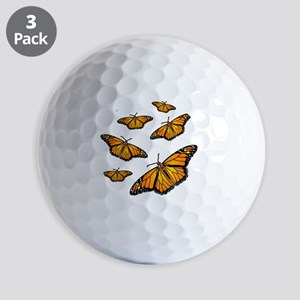 Monarch Butterflies Golf Balls