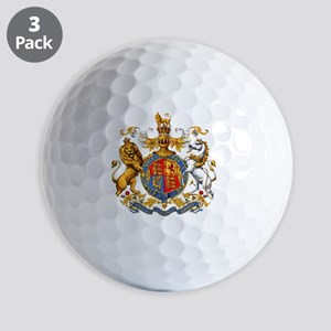 United Kingdom Coat of Arms Heraldry_LT Golf Balls