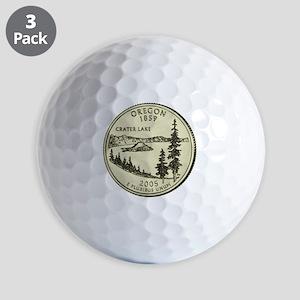 Oregon Quarter 2005 Basic Golf Ball