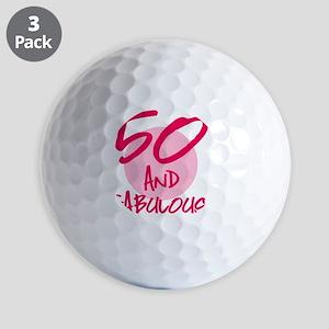 50 And Fabulous Golf Balls