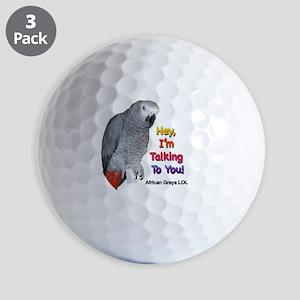 Hey, I'm talking to you! LOL Golf Balls