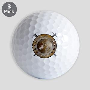 CP Shield_and_sword_Logo Golf Balls