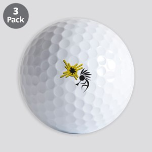 KOKOPELLI AND SUN Golf Ball