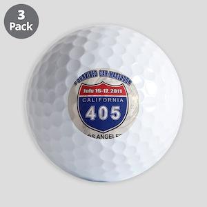 Car-Mageddon Golf Balls
