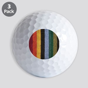 Striped Golf Balls