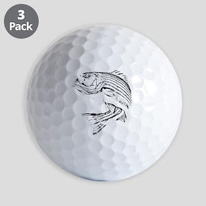 Striped Bass Golf Balls