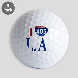 I love LA Golf Balls