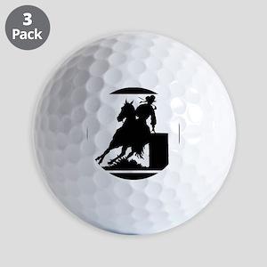 Barrel Racing Golf Balls