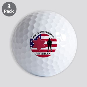 6th Infantry Division Golf Ball
