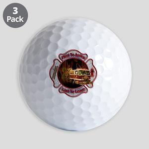 Firefighters Golf Balls