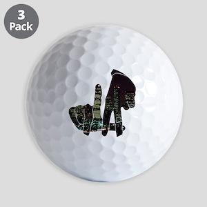 LA Golf Balls