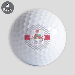Create Personalized Anniversary Golf Balls