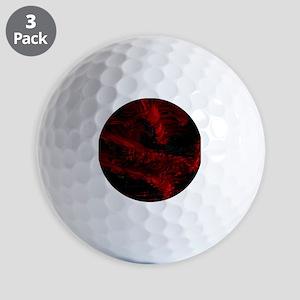 impressive moments full of color-red black Golf Ba
