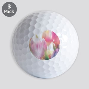 Beautiful Tulips Golf Ball
