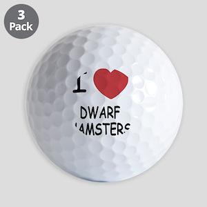 DWARFHAMSTERS Golf Balls