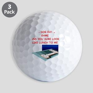 dominoes Golf Balls