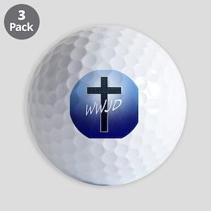 WWJD Golf Balls