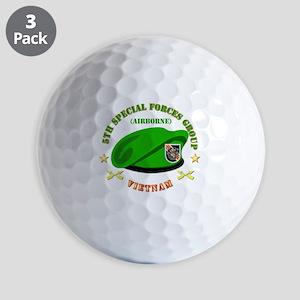 SOF - 5th SFG Beret - Vietnam. Golf Balls