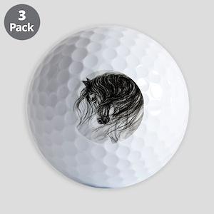 Mane Dance art Golf Balls
