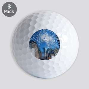 Broken glass - Golf Balls