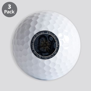 lovecraftseal Golf Balls