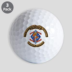 1st Bn - 4th Marines Golf Balls