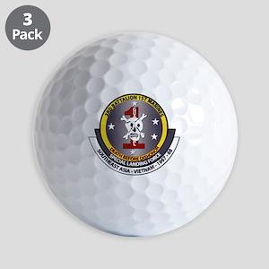 SSI - 3rd Battalion - 1st Marines USMC Golf Balls