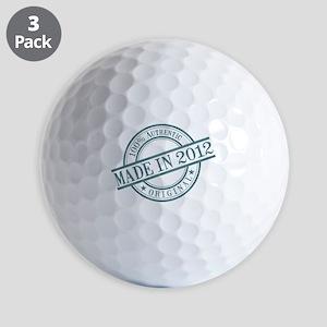 Made in 2012 Golf Balls