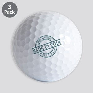 Made in 2014 Golf Balls