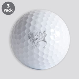 White GGKP Golf Balls