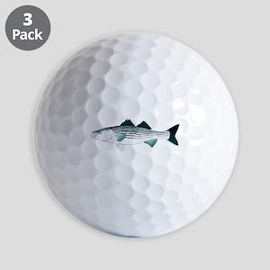 Striped Bass v2 Golf Ball