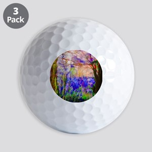Nature In Stained Glass Golf Balls