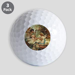 Victorian Angels by Zatzka Golf Balls