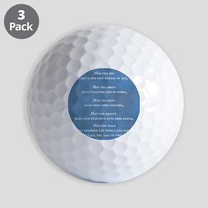 Apache Blessing Golf Balls