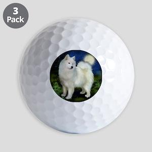 samoyed10 Golf Balls