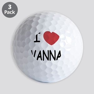 VANNA Golf Balls
