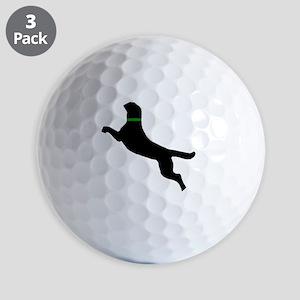black dog new pocket Golf Balls