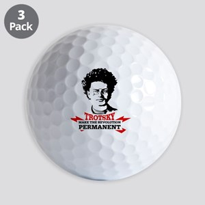 Leon Trotsky: Permanent Revolution Golf Balls