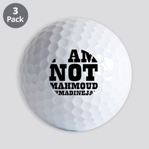 MAHMOUDAHMADINEJAD Golf Balls