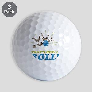 How I Roll Golf Balls