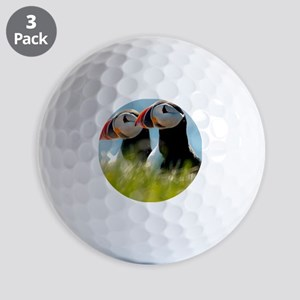 Puffin Pair 14x14 600 dpi Golf Balls