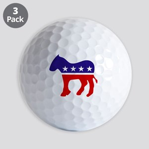 Democrat Donkey Golf Balls