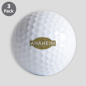 Anaheim Cigar Club Golf Balls