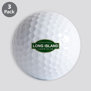 Long Island Cigar Club Golf Balls