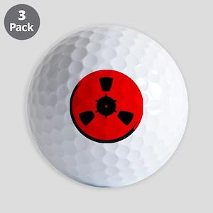 Reel of Tape Golf Balls