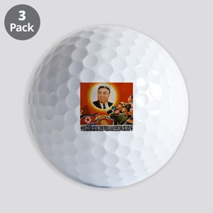 Kim Il-sung - ??? Golf Balls