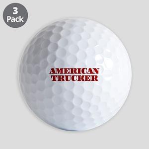 American Trucker Golf Ball