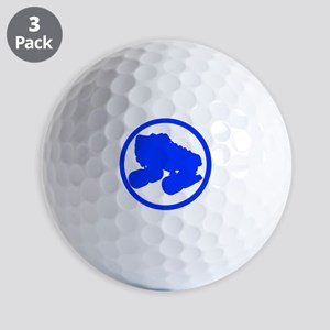 Blue Skate Golf Balls